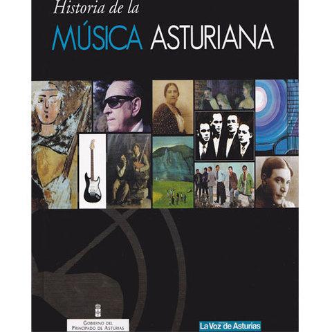 Artesania Asturiana -  Historia de la musica asturiana - libro  - Editorial Picu Urriellu