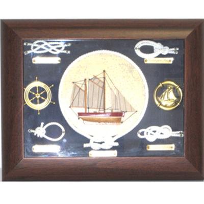 Nudos marineros barco marco caoba