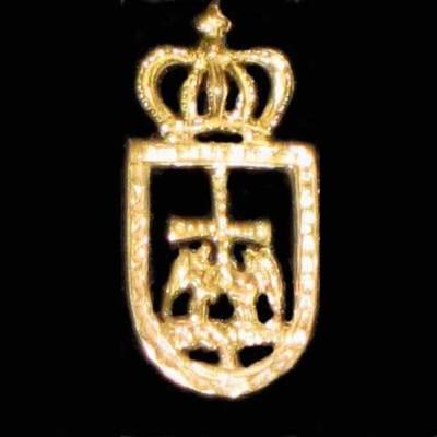 Pin escudo de Oviedo
