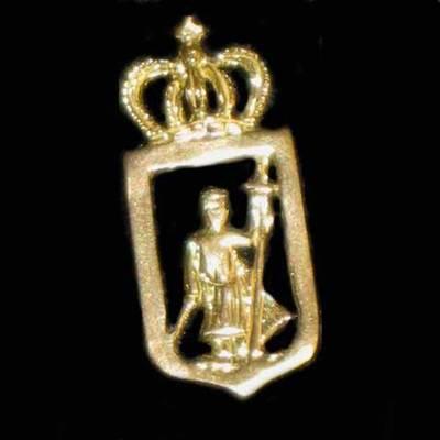 Pin escudo de Gijón