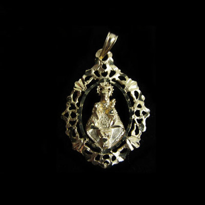 Medalla Virgen de Covadonga orla