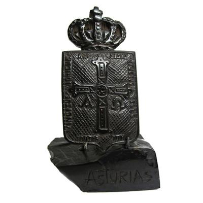 Escudo asturias broche y base
