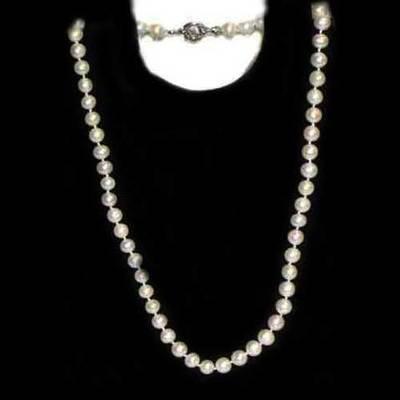 Collar perlas 60 cm.