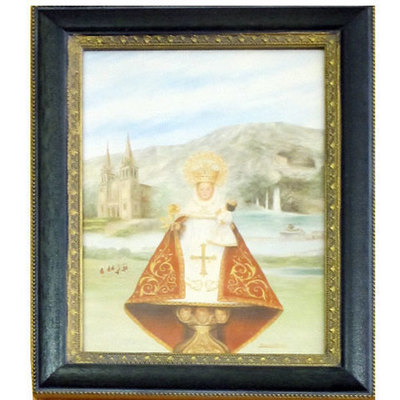 Virgen Covadonga  litografía