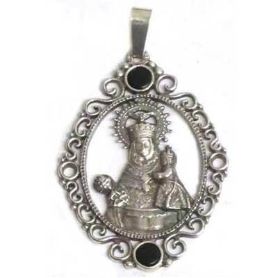 Medalla Virgen Covadonga 2p.azab./plata filigrana
