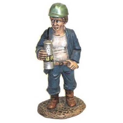 Minero vigilante lampara