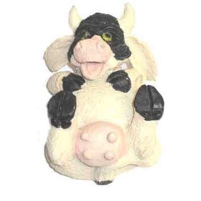 Vaca pinta posturas