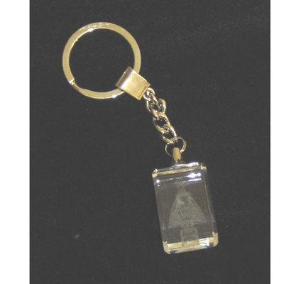 LLavero Virgen Covadonga cristal