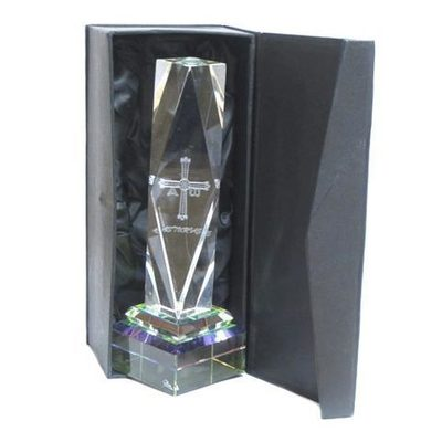 Monolito cristal cruz victoria