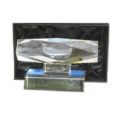 Monolito cristal madreña - horizontal