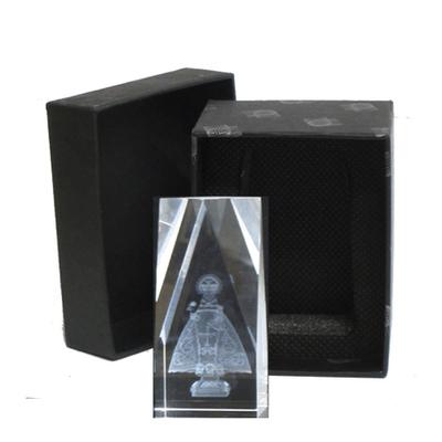 Cristal laser Virgen Covadonga pequeña