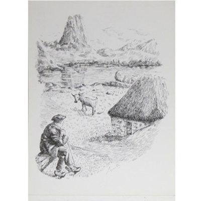 Plumillas litografia -pastor - naranjo bulnes