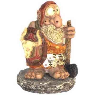 Hombre astur celta con escudo