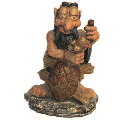 Hombre astur celta con tortuga