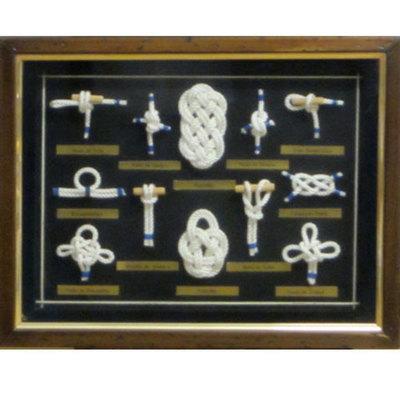 Cuadro nudos marineros marco rustico