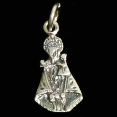 Colgante plata Virgen de Covadonga silueta