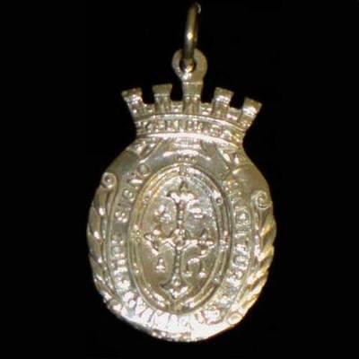 Medalla almena mediana