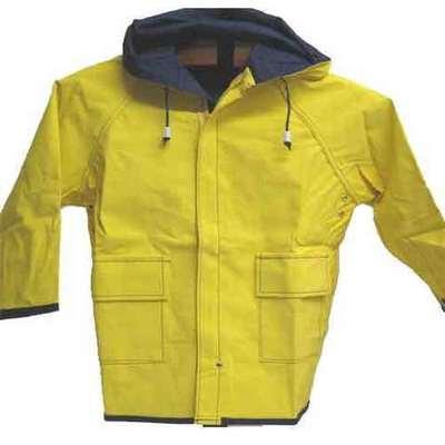 Chubasquero marinero reversible amarillo/azul -niños