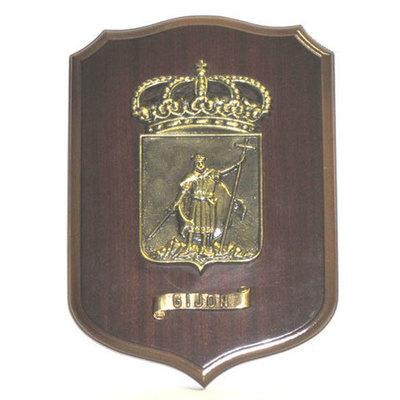 Metopa escudo de Gijón