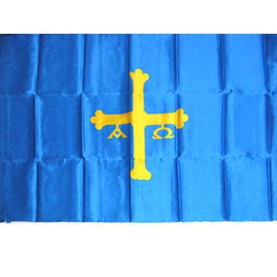 Bandera de Asturias serigrafia ( tres tamaños )
