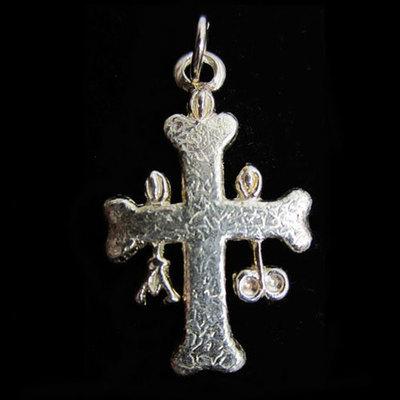 Cruz de la Victoria plata ( 2 tamaños )