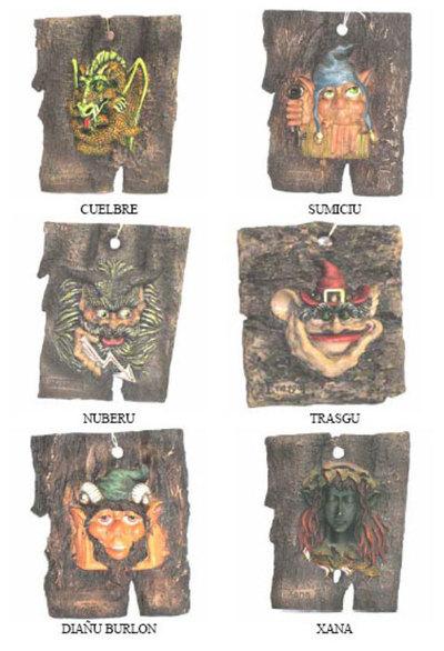 Cortezas mitologia asturiana grandes