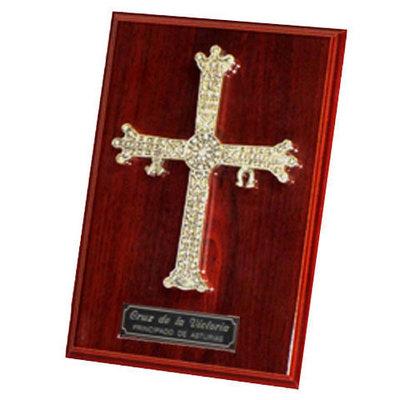 Cruz de la Victoria grande - placa sobremesa