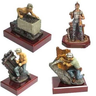 Figuras de mineros