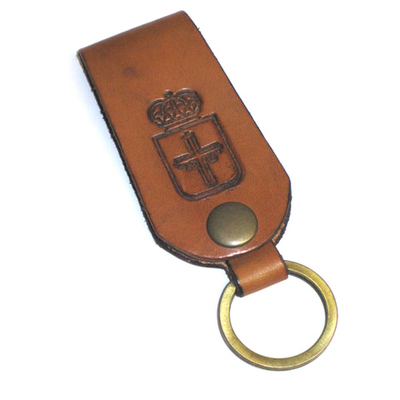 Llavero cinturon Escudo de Asturias