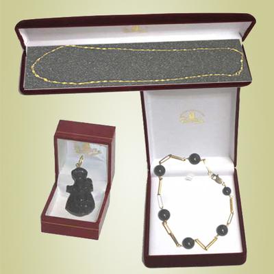 Pulsera bolas, cadena oro y colgante Virgen de Covadanga