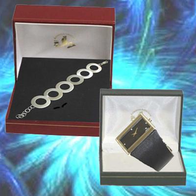 Relojes diseño con circonitas y pulsera de plata