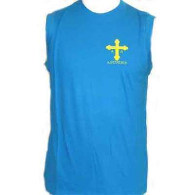 Cruz victoria azul royal sin mangas