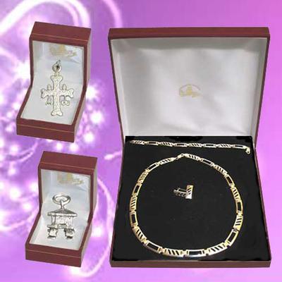 Conjunto plata con gargantilla, pulsera, pendientes y colgantes