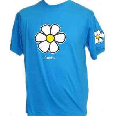 Flor edelweiss - azul royal