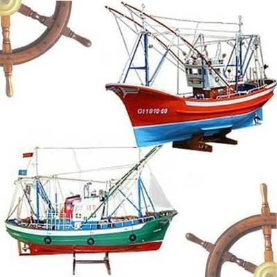 Barcos maqueta artesanales
