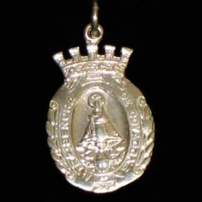 Medalla plata almena ( 2 tamaños )