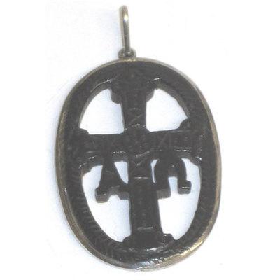 Medalla orla Cruz Victoria forrada con plata