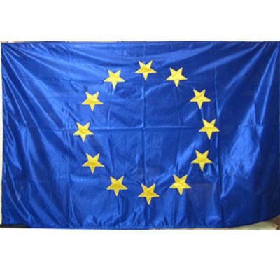 Bandera oficial comunidad europea (bordadas las estrellas)