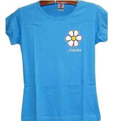 Flor edelweiss - azul celeste