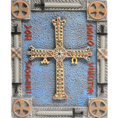 Cruz de la Victoria placa