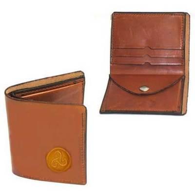 Cartera billetera cuero troquelado trsquel