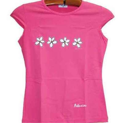 Top ajustable flores - fucsia