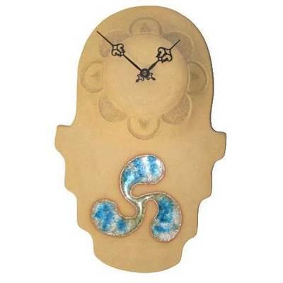 Reloj ceramica motivo celta - colgar