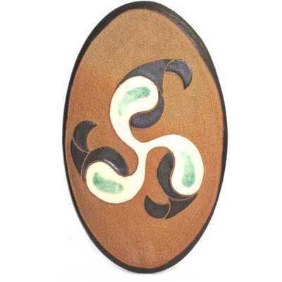 Ceramica colgar motivos celtas