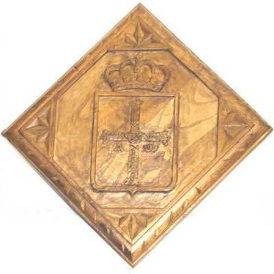 Escudo de Asturias forma rombo