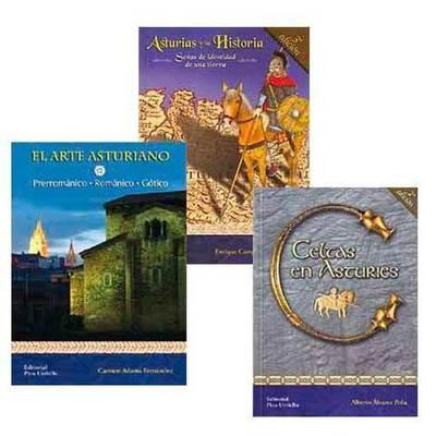 Paquete 3 libros de Historia de asturias