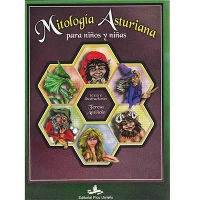 Libro de Mitologia para niños y niñas