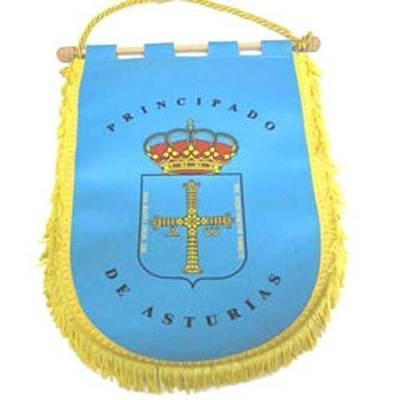 Banderin Escudo de Asturias