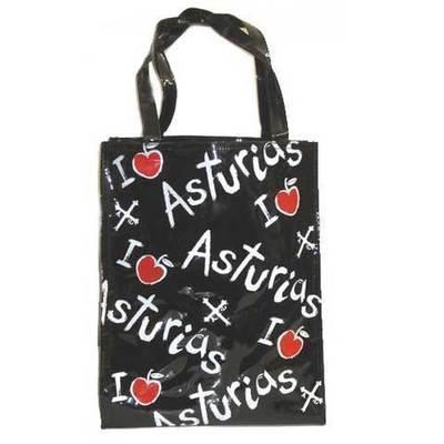 Bolsa playa manzanas con Asturias