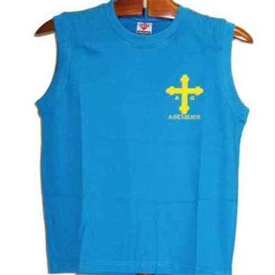Cruz victoria azul royal sin mangas - joven